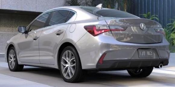 Acura ILX Lunar Silver Metallic