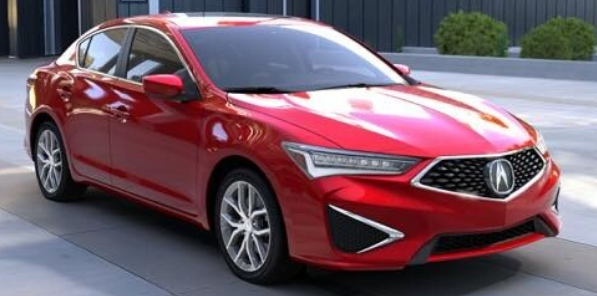 Acura ILX Performance Red Pearl