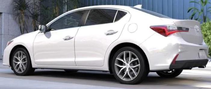 Acura ILX Platinum White Pearl