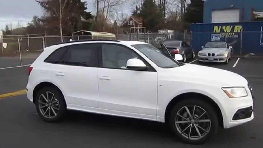 Audi Q5 Ibis White