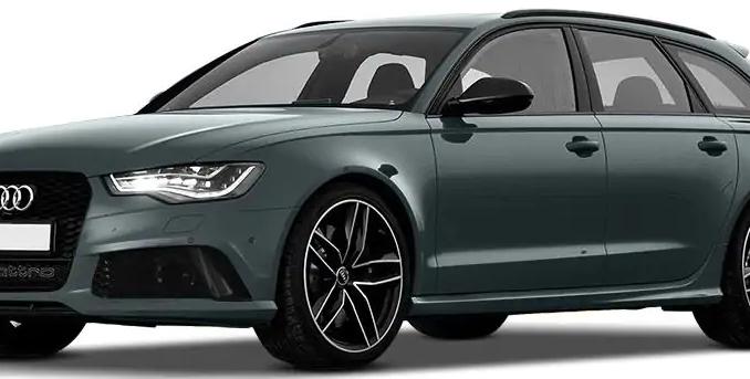 Audi RS6 Avant Daytona Grey Matte