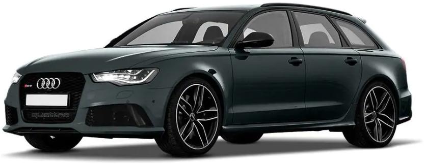 Audi RS6 Avant Daytona Grey Pearl