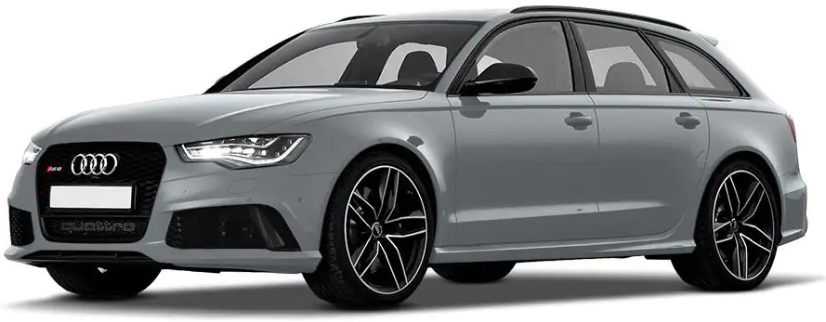 Audi RS6 Avant Floret Silver Metallic