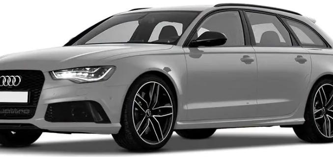 Audi RS6 Avant Glacier White