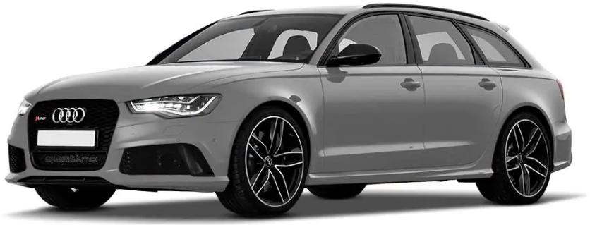 Audi RS6 Avant Prisma Silver Crystal