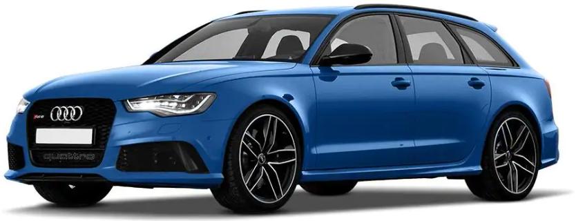 Audi RS6 Avant Sepang Blue Pearl