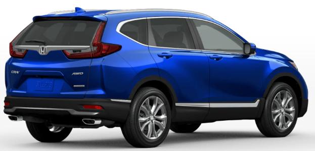 Honda CR-V Aegean Blue Metallic