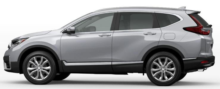 Honda CR-V Lunar Silver Metallic