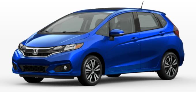 Honda Fit Aegean Blue Metallic