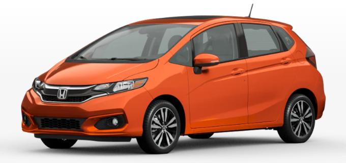 Honda Fit Orange Fury