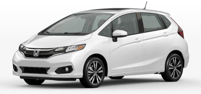 Honda Fit Platinum White Pearl