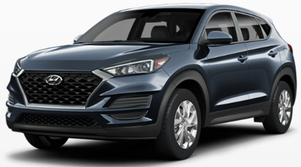 Hyundai Tucson Dusk Blue