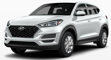 Hyundai Tucson White Cream Color