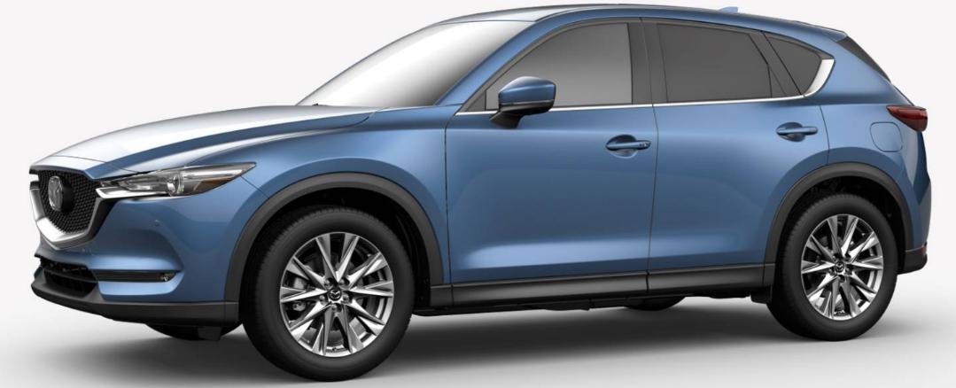 Mazda CX-5 Eternal Blue Mica