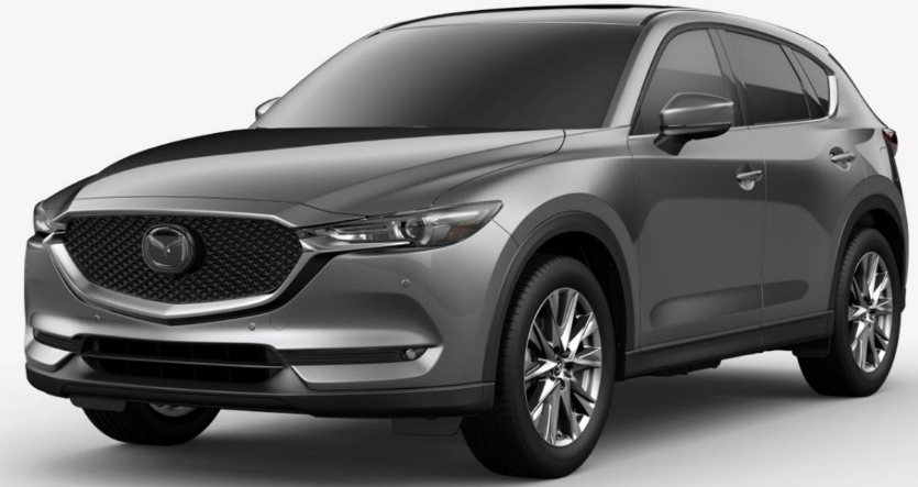 Mazda CX-5 Machine Grey Metallic