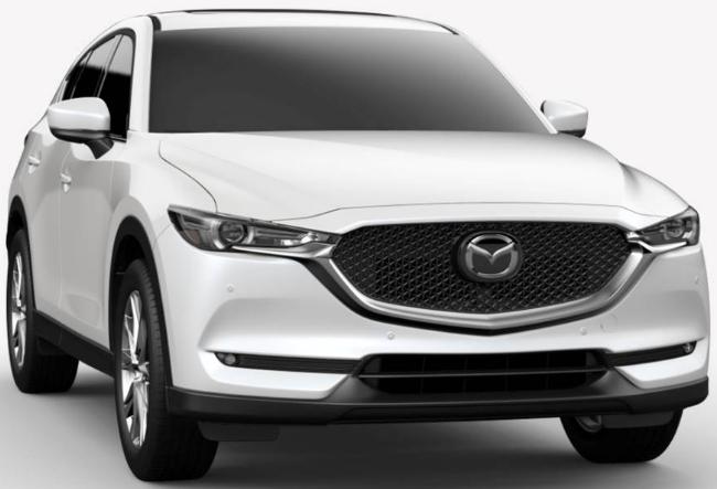Mazda CX-5 Snowflake White Pearl