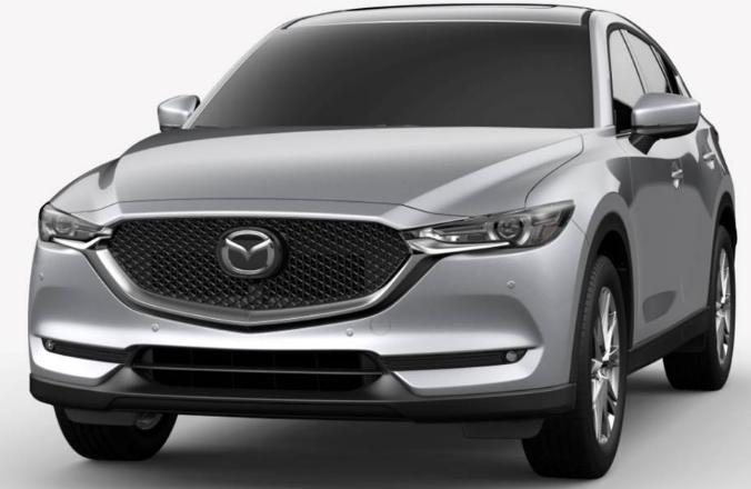 Mazda CX-5 Sonic Silver Metallic