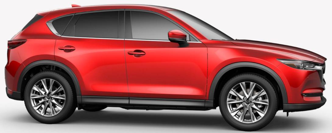 Mazda CX-5 Soul Red Crystal Metallic