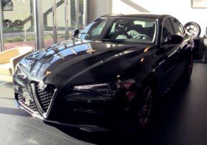 Alfa Romeo Giulia Alfa Black