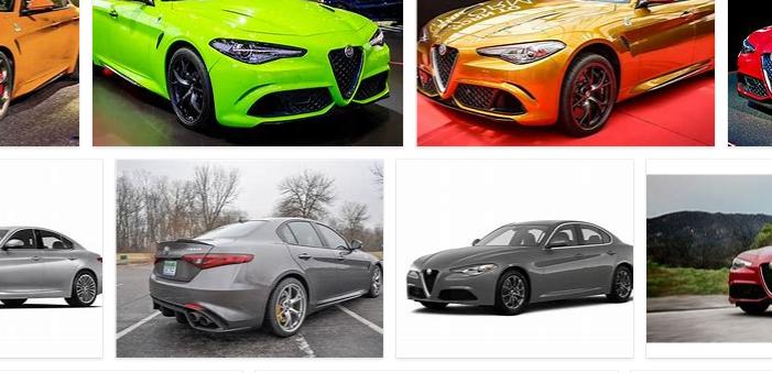 Alfa Romeo Giulia Colors