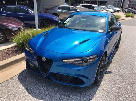 Alfa Romeo Giulia Misano Blue Metallic