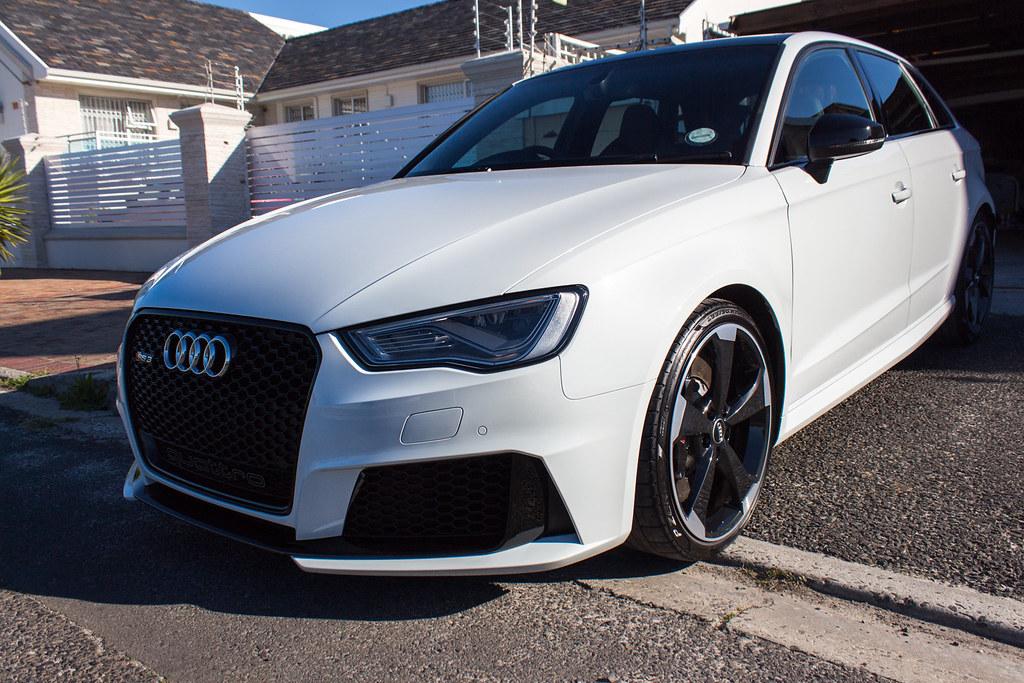 Audi RS3 Glacier White