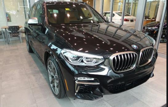 BMW X3 Black Sapphire Metallic