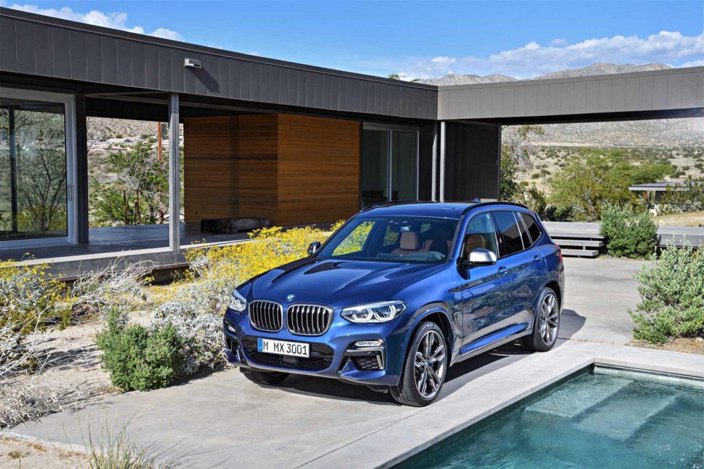 BMW X3 Phytonic Blue Metallic