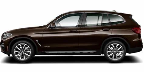 BMW X3 Terra Brown Metallic