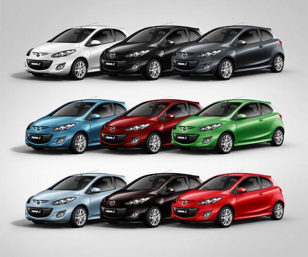 Mazda 2 Colors