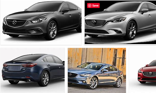 Mazda 6 Colors:
