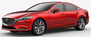 Mazda 6Soul Red Crystal Metallic