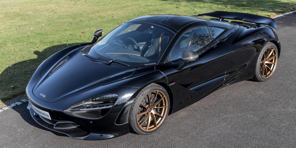 McLaren 720S Abyss Black