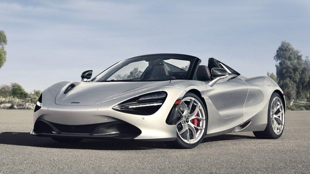 McLaren 720S Silver