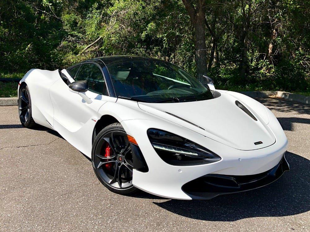 McLaren 720S White