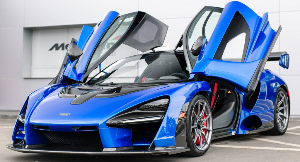 Mclaren Senna Blue