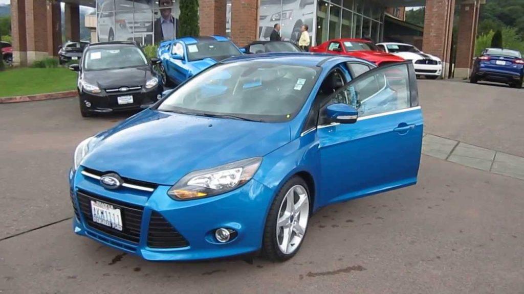 Ford Focus Blue Metallic