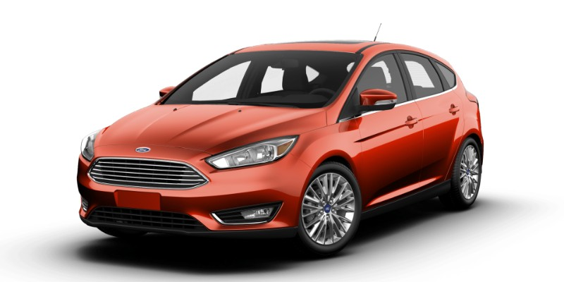 Ford Focus Hot Pepper Red