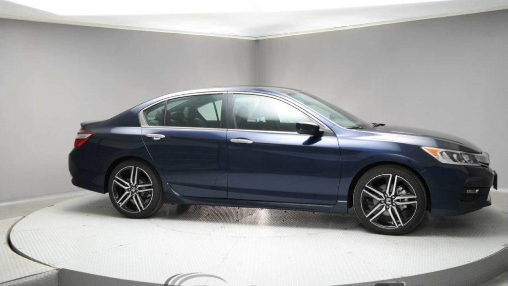 Honda Accord Obsidian Blue Pearl