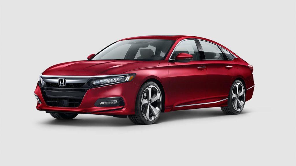 Honda Accord Radiant Red Metallic