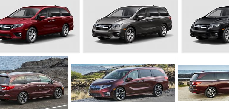 Honda Odyssey Colors