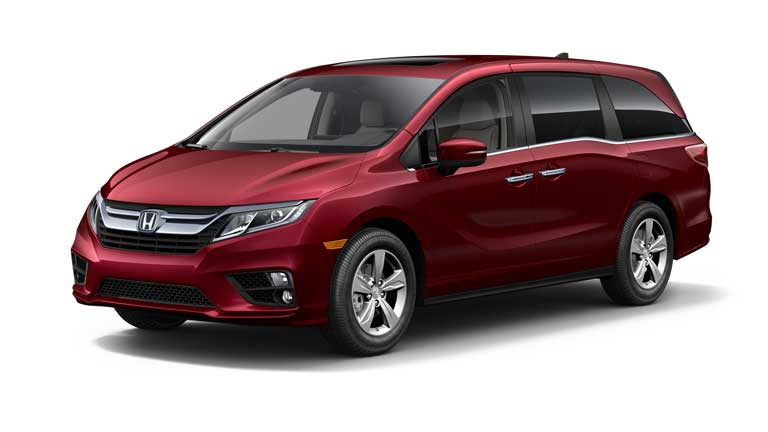 Honda Odyssey Deep Scarlet Pearl