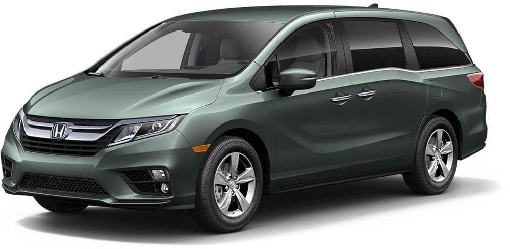 Honda Odyssey Forest Mist Metallic
