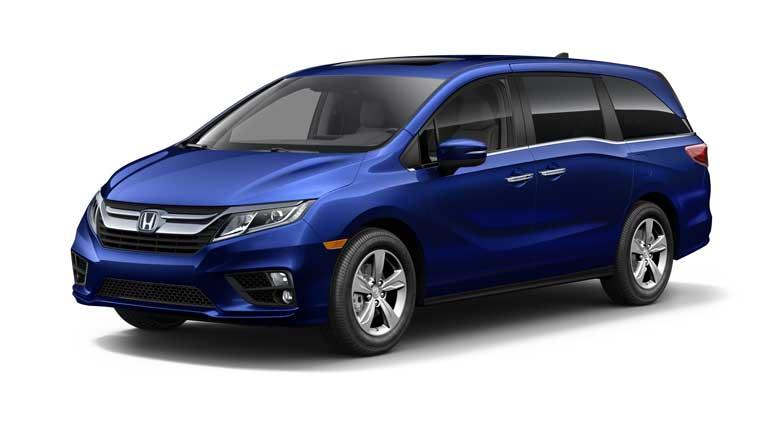 Honda Odyssey Obsidian Blue Pearl