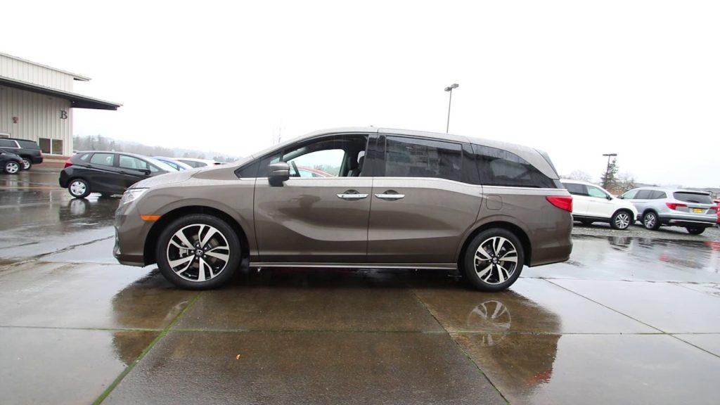 Honda Odyssey Pacific Pewter Metallic