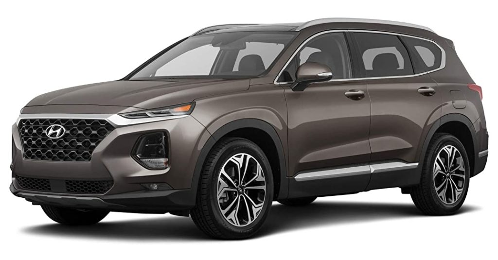 Hyundai Santa Fe Earthy Bronze