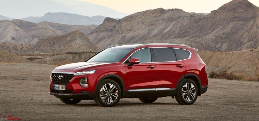 Hyundai Santa Fe Horizon Red
