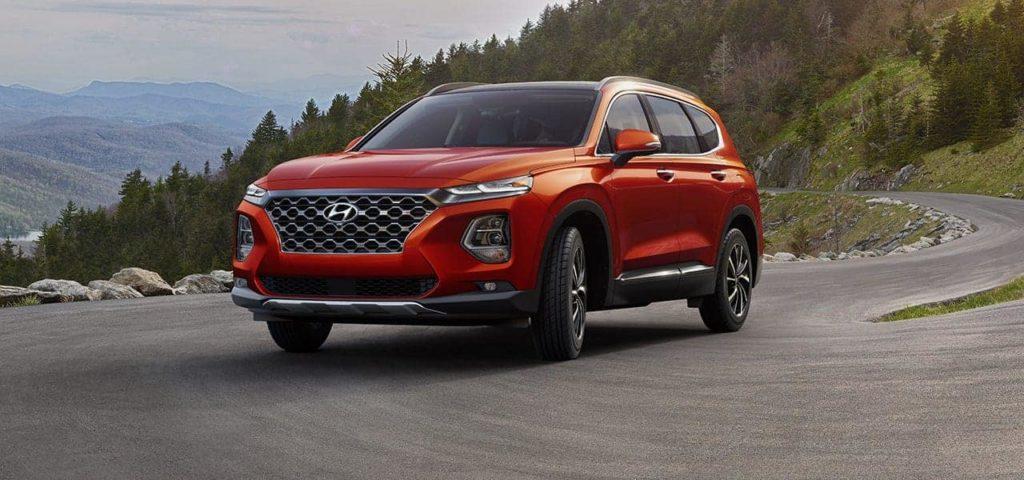 Hyundai Santa Fe Lava Orange