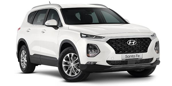 Hyundai Santa Fe White Cream