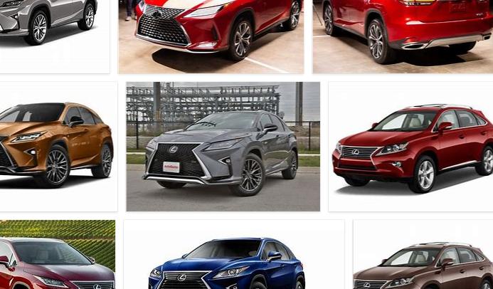 Lexus RX Colors